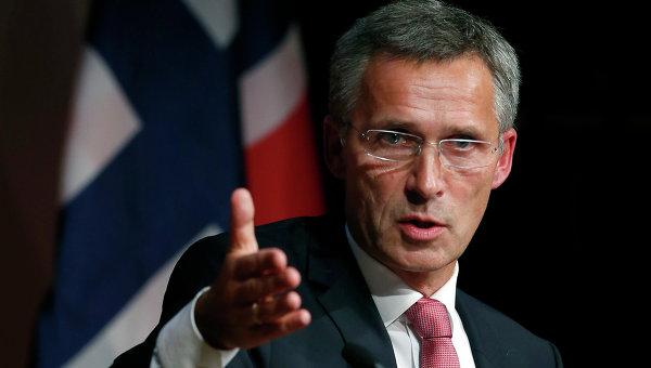 Столтенберг призвал Россию уважать воздушное пространство стран НАТО