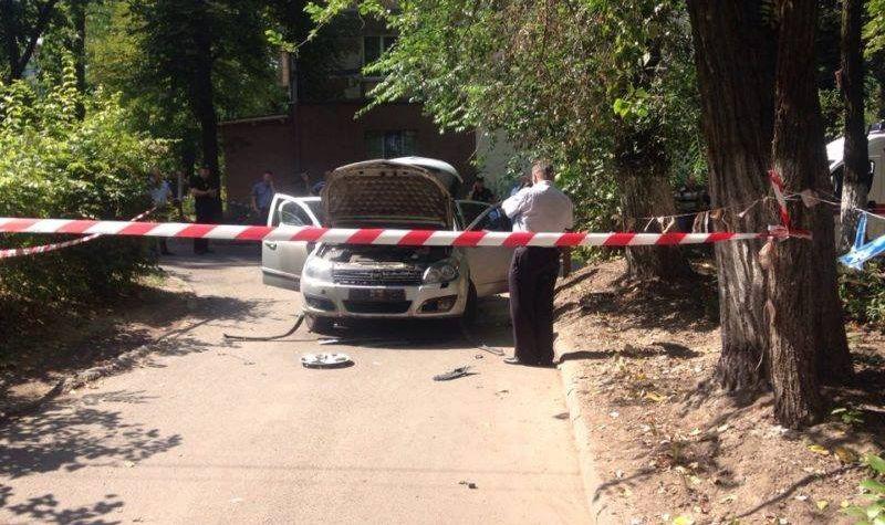 В Днепре взорвался автомобиль-0