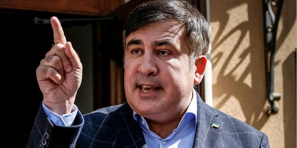 Саакашвили ответил на заявление Луценко о его депортации