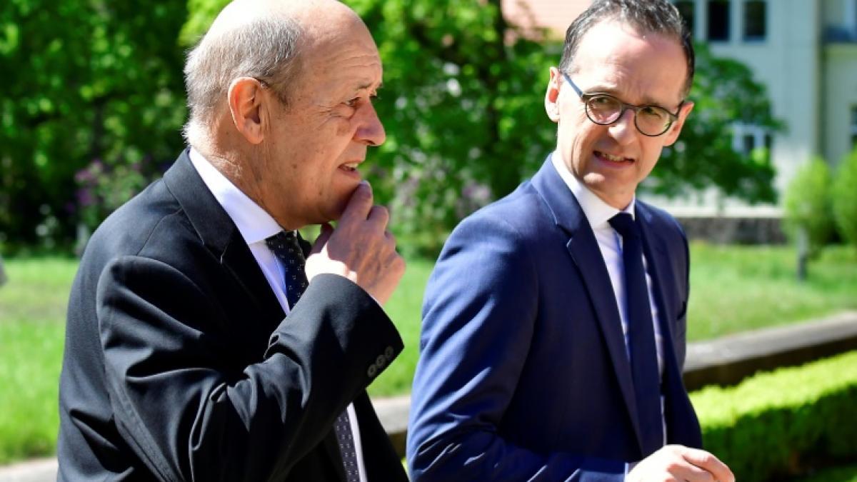 Главы МИД Франции и Германии поделились впечатлениями от встречи с Зеленским-0
