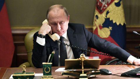 Путин обсудил с Меркель и Макроном смену власти в Украине