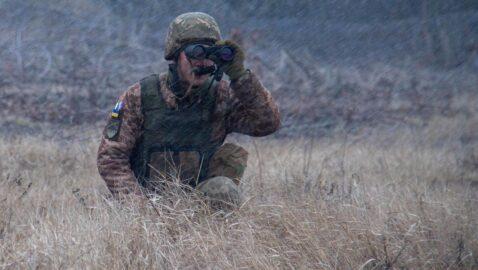 Штаб ООС: противник открыл прицельный огонь, есть раненый