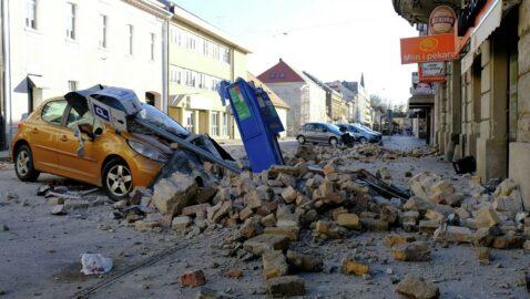 Украина предоставит гумпомощь Хорватии из-за землетрясений
