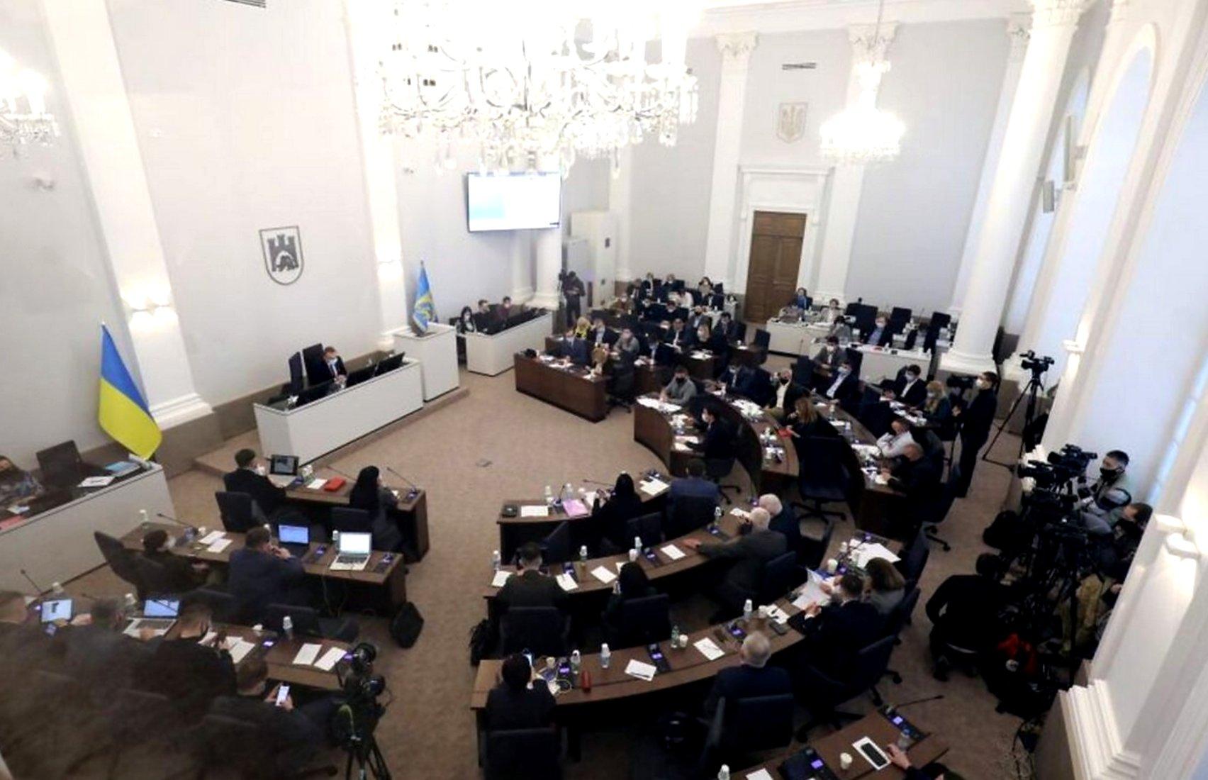 Во Львове депутаты горсовета будут петь хором для улучшения коммуникации