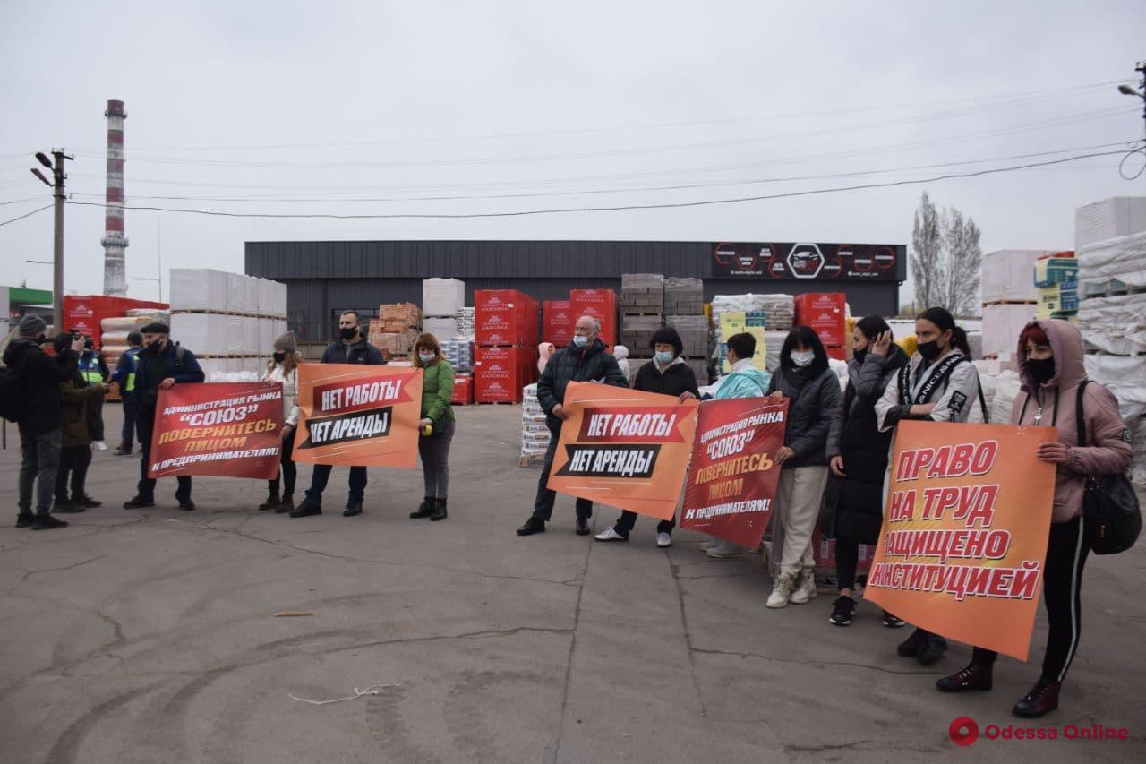 В Одессе предприниматели из-за карантина перекрыли улицу (фото, видео) - 5 - изображение