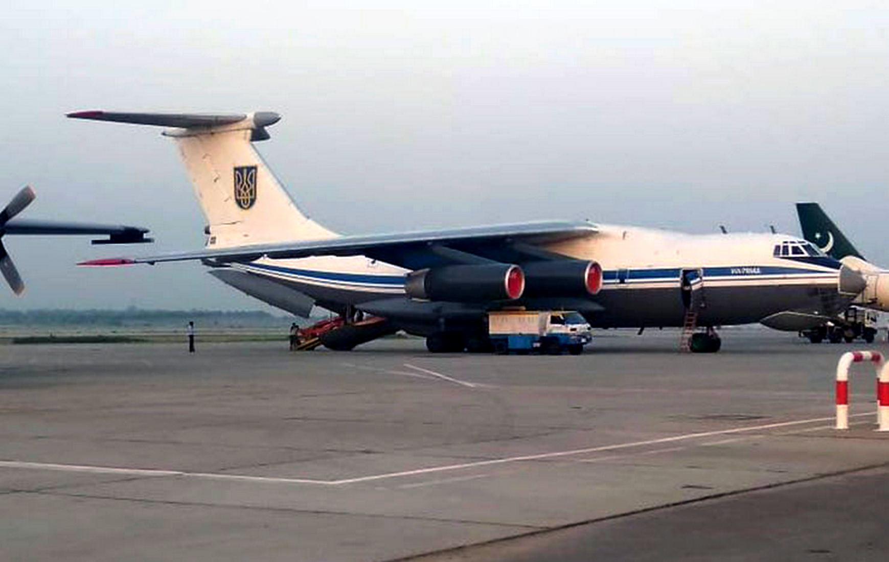 Украинский самолёт, вылетевший из Кабула, приземлился в Пакистане